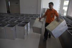 金钱政治印度尼西亚人民主 免版税库存图片
