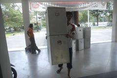 金钱政治印度尼西亚人民主 免版税库存照片