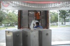 金钱政治印度尼西亚人民主 库存图片