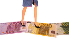 金钱方式 免版税库存图片
