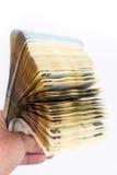 金钱的力量 库存照片