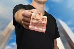 金钱的投资 免版税库存图片