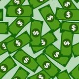 金钱的背景 向量例证