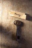 金钱的钥匙 免版税库存图片