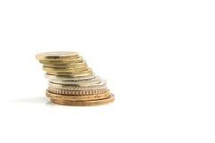 金钱硬币 免版税库存照片
