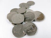 金钱硬币 库存图片