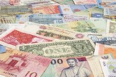金钱纸 库存图片