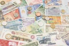 金钱纸 免版税库存图片