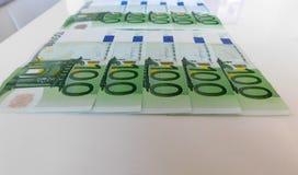 金钱,欧元,船,现金,票据 库存图片