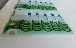 金钱,欧元,船,现金,票据 库存照片