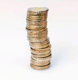 金钱,欧洲硬币 免版税库存图片