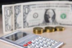 金钱,硬币,交换 免版税图库摄影