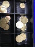 金钱,金钱,欧元 免版税库存照片