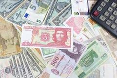 金钱,经济引擎  免版税库存图片
