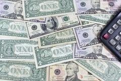 金钱,经济引擎  免版税库存照片