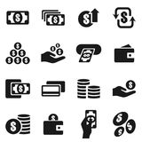 金钱icon6 库存图片