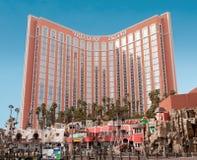 金银岛、旅馆和赌博娱乐场,拉斯维加斯, NV 免版税库存照片