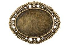 金银细丝工以框架,手工w的装饰元素的形式 库存照片