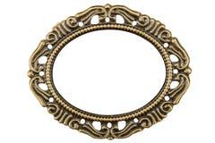 金银细丝工以框架,手工w的装饰元素的形式 库存图片