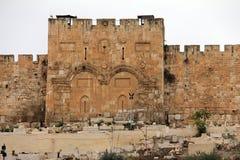 金门。耶路撒冷,以色列。 库存照片