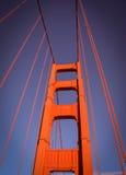 金门吊桥旧金山加州 免版税库存照片