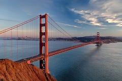 金门大桥在圣Fracisco市 库存照片