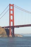 金门大桥在旧金山,加利福尼亚,美国 免版税库存图片