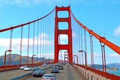 金门大桥在旧金山-加州 免版税图库摄影