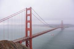 金门大桥,旧金山加利福尼亚美国 库存图片