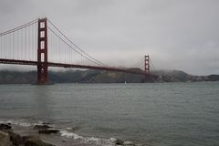 金门大桥2093年 免版税图库摄影