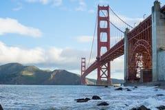金门桥,旧金山,加利福尼亚,美利坚合众国 图库摄影