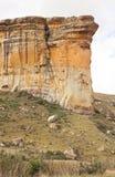 金门高地国家公园国立公园位于自由邦省,南非, 库存照片