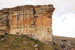 金门高地国家公园国立公园位于自由邦省,南非, 免版税库存图片