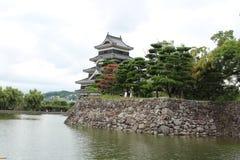 金额背景城堡有图象大日本做马塔莫罗斯非老最旧开放完善的重建的s天空空间符号传统 免版税图库摄影