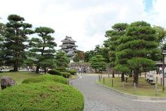 金额背景城堡有图象大日本做马塔莫罗斯非老最旧开放完善的重建的s天空空间符号传统 图库摄影
