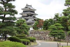 金额背景城堡有图象大日本做马塔莫罗斯非老最旧开放完善的重建的s天空空间符号传统 免版税库存照片
