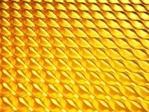 金黄七高八低或起水泡的纹理 库存例证