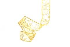 金黄丝带 图库摄影