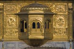 金黄印度寺庙 库存照片