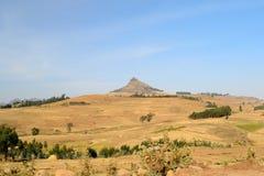金黄埃赛俄比亚的横向 图库摄影