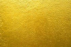 金黄墙壁 免版税库存照片