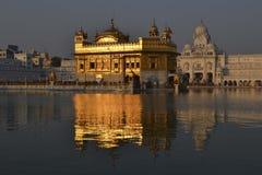 金黄寺庙在印度 免版税库存图片
