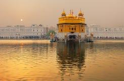 金黄寺庙,阿姆利则,印度 库存照片