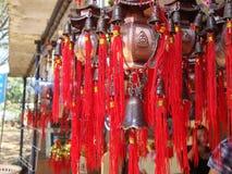 金黄寺庙, Coorg,印度 图库摄影