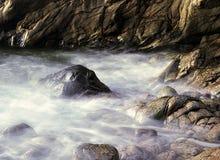 金黄岩石 免版税图库摄影