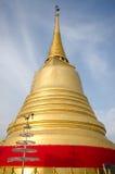 金黄挂接在曼谷,泰国 库存照片
