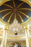 金黄旅馆大厅样式 免版税图库摄影