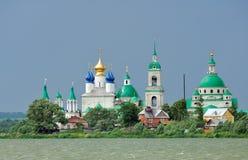 金黄极大的环形rostov俄国城镇 库存图片