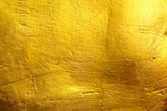 金黄水泥纹理背景 免版税库存照片