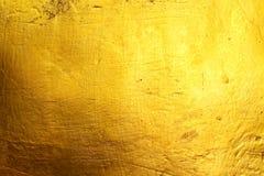 金黄水泥纹理背景 免版税库存图片